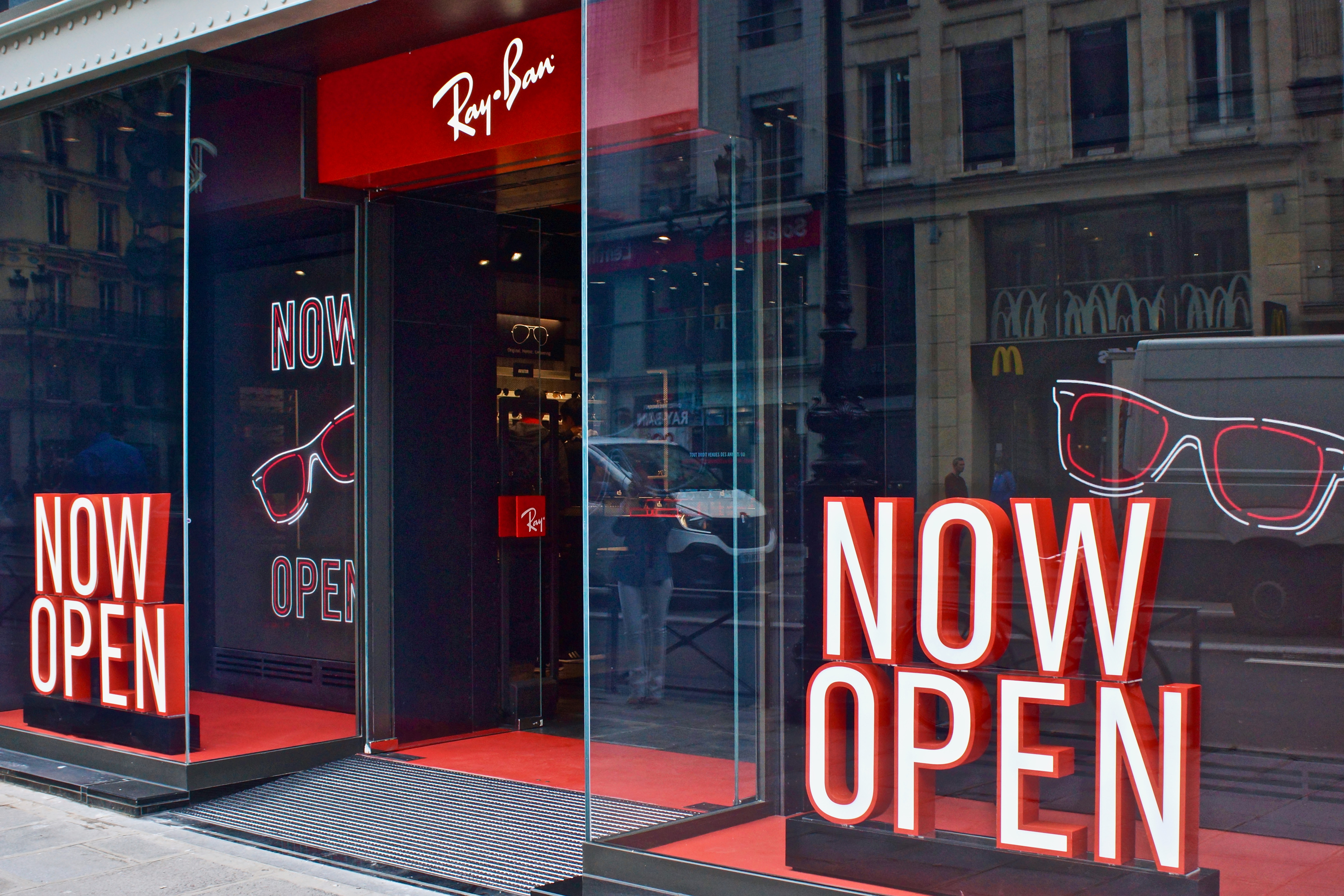 boutique ray ban champs elysees