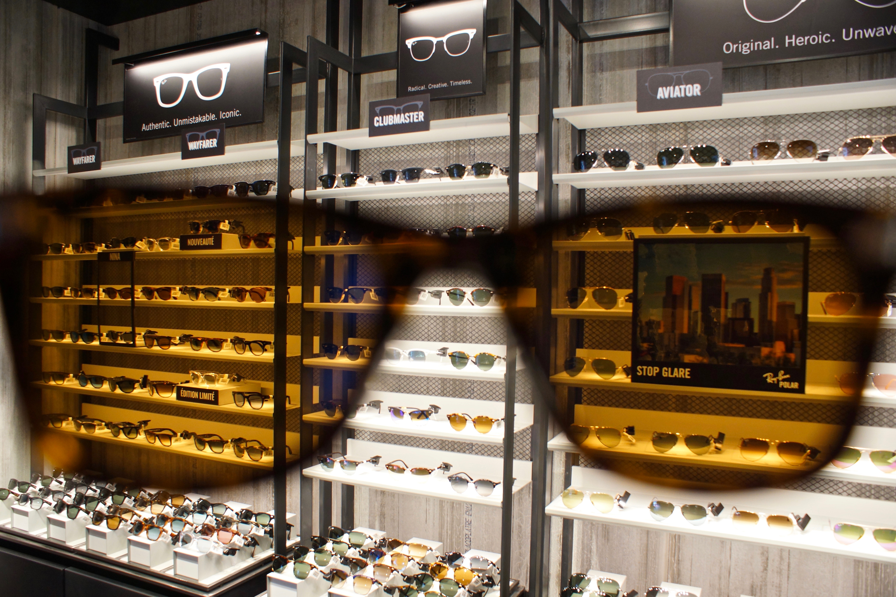 magasin lunette ray ban paris