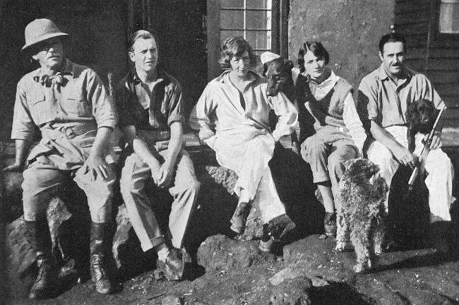 des habitants de la Happy Valley en 1939